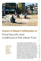 Impact of Nepal's Earthquake on  Food Security and Livelihood of the Urban Poor