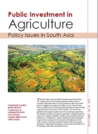 Public Investment in Agriculture Policy Issues in South Asia