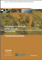 Evaluating Aid For Trade on the Ground Lessons From Nepal